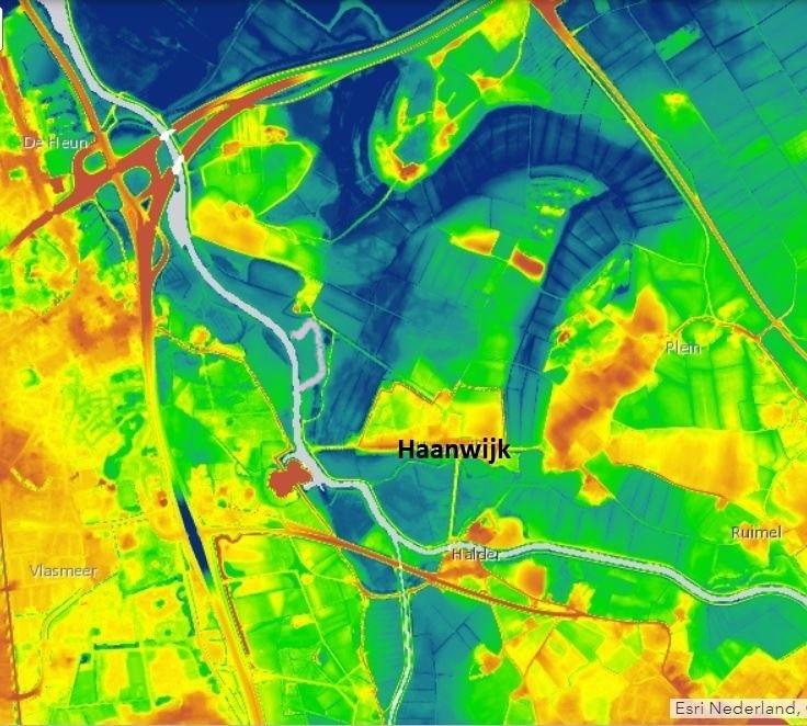 Haanwijk AHN2 dynamisch 2019 aangepast